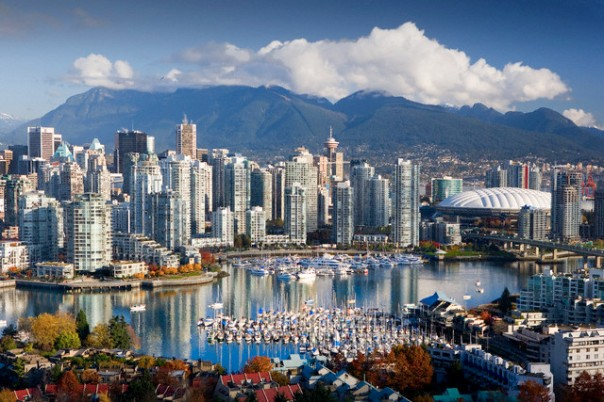 Vancouver, British Columbia, Canada --- Coal Harbor in Vancouver --- Image by © Jose Fuste Raga/Corbis